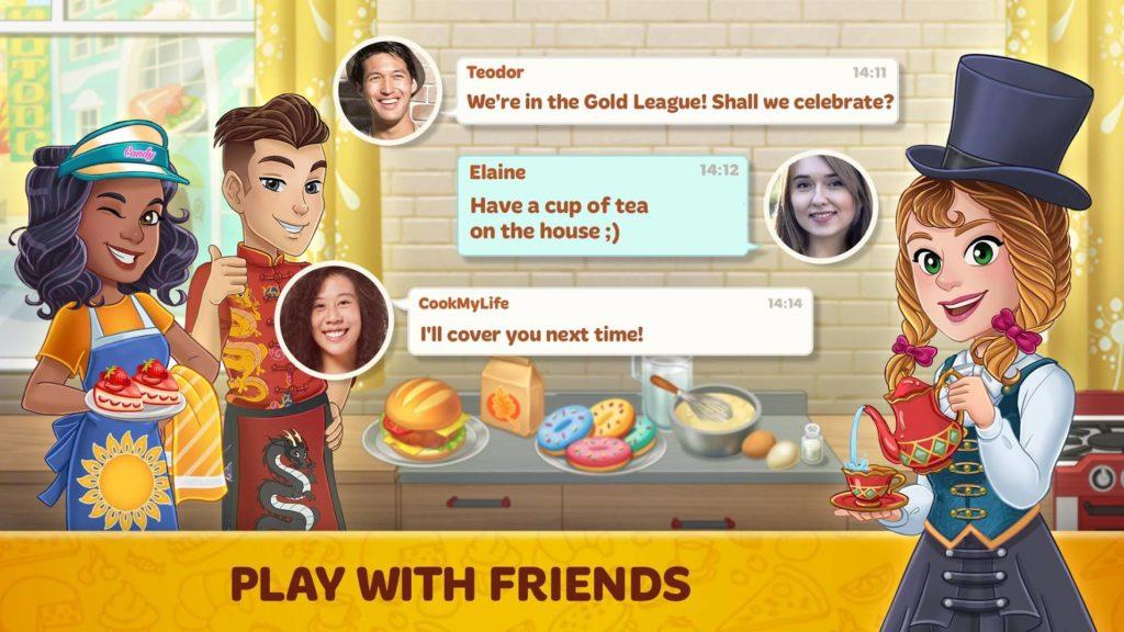 دانلود Cooking Diary®: Best Tasty Restaurant & Cafe Game 1.12.0 - بازی شبیه سازی