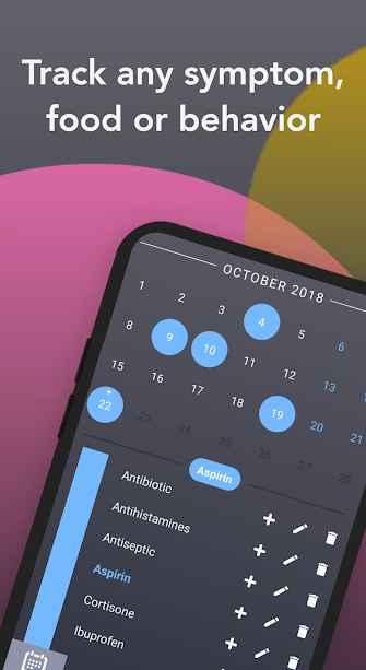 دانلود Correlate - Symptoms Diary And Habits Tracker Pro 1.11 - برنامه ژورنال سلامتی هوشمند اندروید !