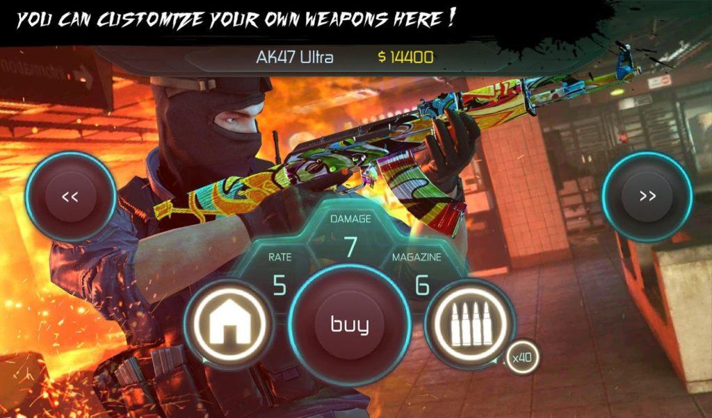 دانلود Counter Terrorist 2 - Gun Strike 1.05 - بازی