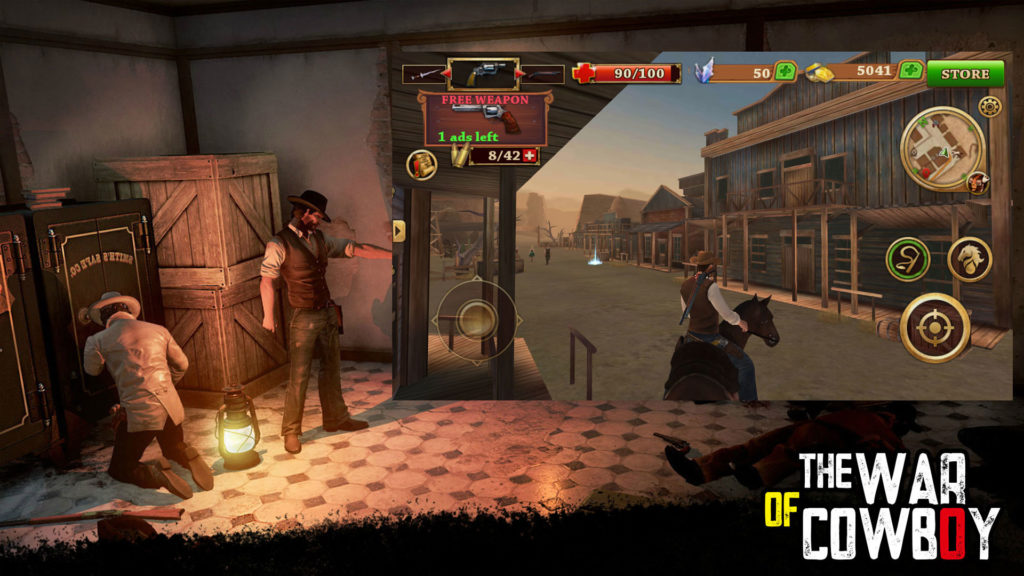 دانلود Cowboy Hunting: Dead Shooter 1.1.1 - بازی اکشن