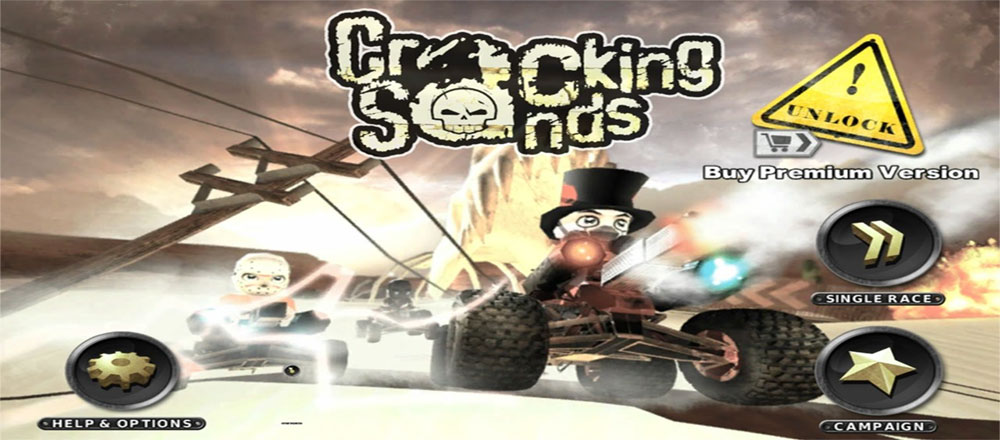 Cracking Sands - Combat Racing Games