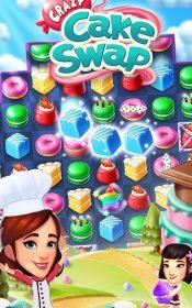 Crazy Cake Swap 5 175x280 دانلود Crazy Cake Swap 1.45.1 – بازی پازل کیک ها آندروید + مود