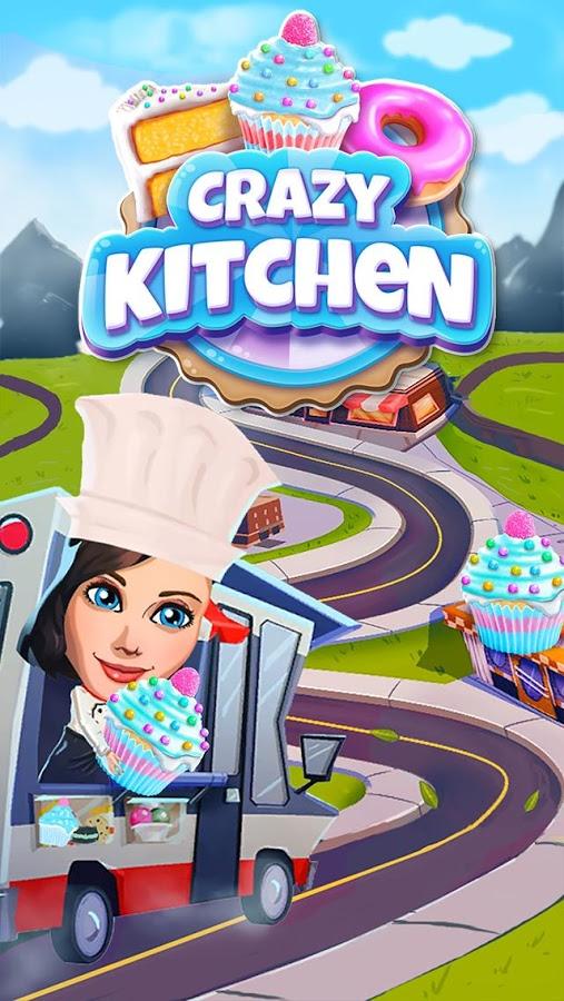 دانلود Crazy Kitchen 6.6.1 - بازی پازل و تطبیق ساز اعتیاداور اندروید + مود