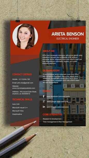 دانلود Creative Resume Builder & Innovative CV Maker PRO 12.0 - برنامه ایجاد رزومه حرفه ای و هنری مخصوص اندروید !