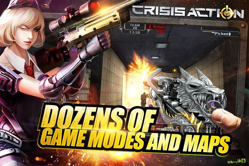 دانلود Crisis Action 2018 3.0.4 - بازی اکشن چند نفره