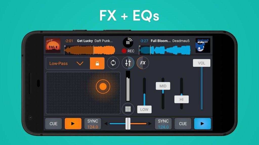 دانلود Cross DJ Pro 3.4.2 - برنامه محبوب میکس موزیک اندروید !