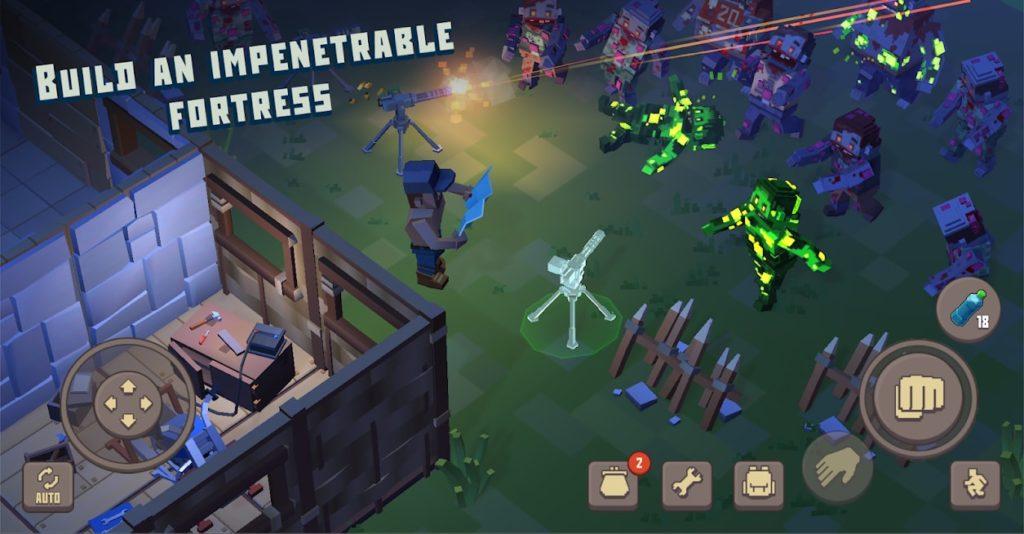 دانلود Cube Survival Story 1.0.4 - بازی اکشن