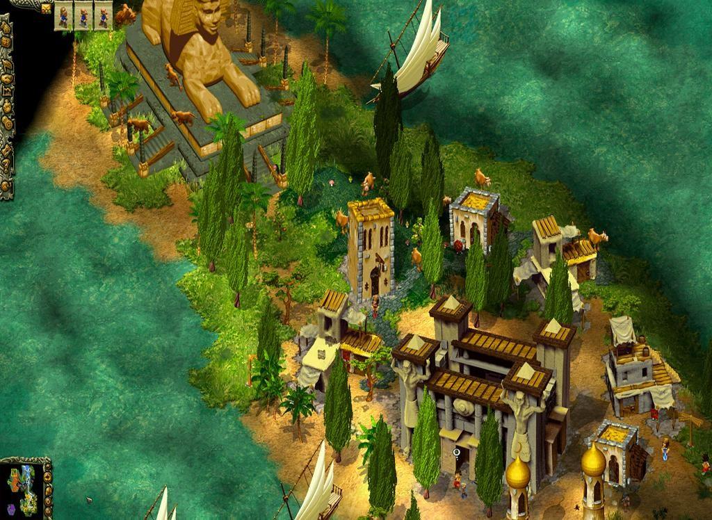 دانلود Cultures: 8th Wonder of the World 1.0 - بازی خارق العاده