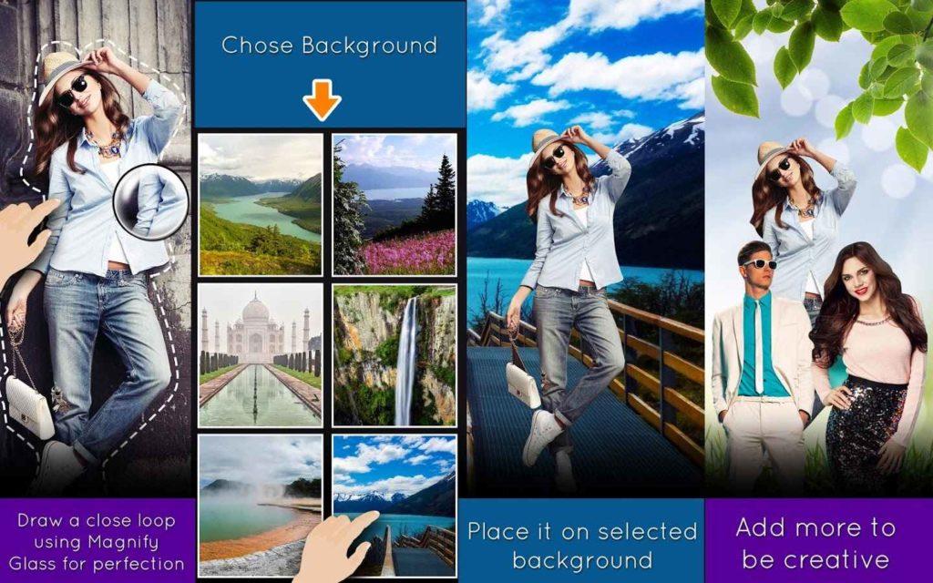 دانلود Cut Paste Photos PRO 8.0.1 - برنامه برش و ترکیب تصاویر اندروید
