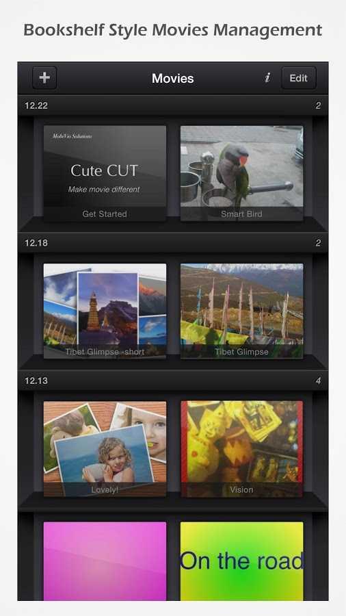 دانلود Cute CUT Full - Video Editor & Movie Maker 1.8.8 - برنامه قدرتمند ویرایش و ایجاد ویدئو اندروید