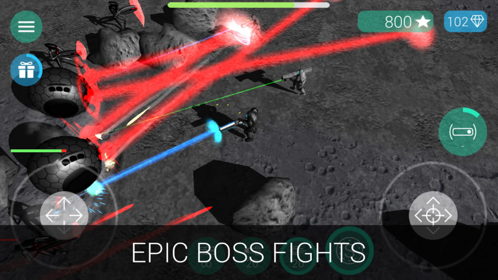 دانلود CyberSphere: Sci-fi Shooter 2.0.0 - بازی اکشن نبرد فضایی اندروید + مود
