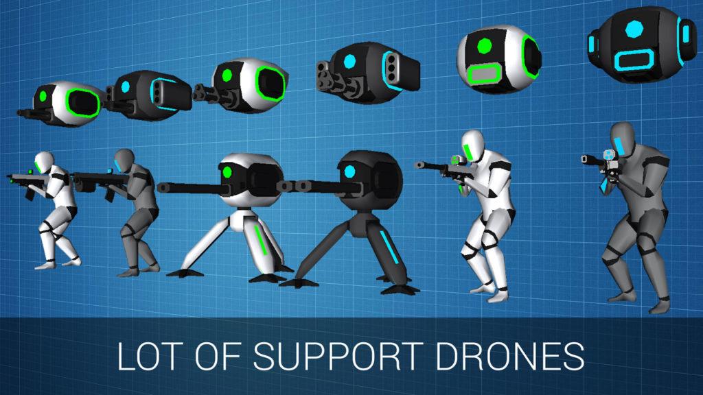 دانلود CyberSphere: Sci-fi Shooter 1.9.3 - بازی اکشن نبرد فضایی اندروید + مود