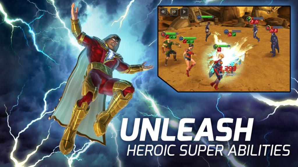 دانلود DC Legends: Battle for Justice 1.26.4 - بازی نقش آفرینی محبوب