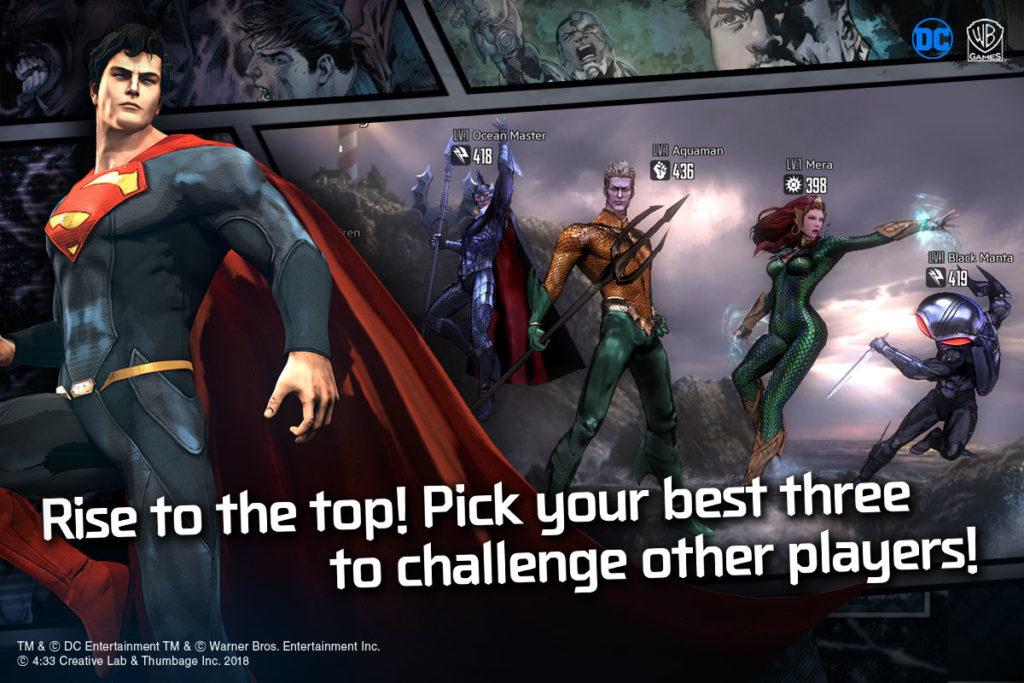 دانلود DC: Unchained 1.2.9 - بازی اکشن رها شدگان: قهرمانان دی سی اندروید + دیتا