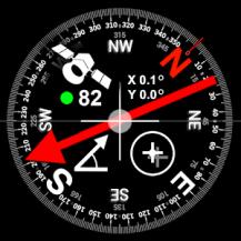 DIGITAL COMPASS GPS SMART TOOLS /U5/