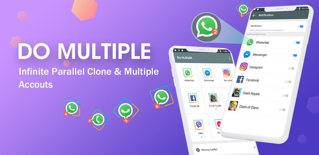 DO Multiple Accounts - Infinite Parallel Clone Pro