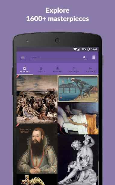 دانلود DailyArt - Your Daily Dose of Art History Premium 2.2.7 - برنامه تاریخچه آثار هنری و هنرمندان مخصوص اندروید !