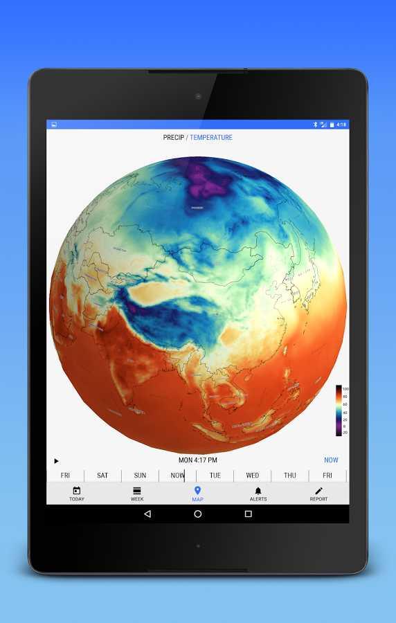 دانلود Dark Sky - Hyperlocal Weather Full 2.7.0 - برنامه پیش بینی دقیق آب و هوا اندروید