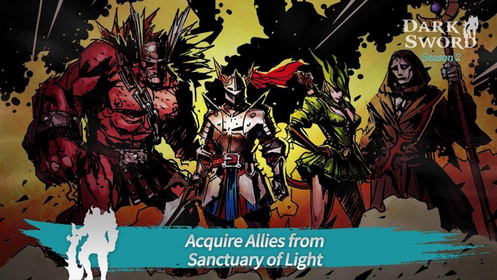 دانلود Dark Sword : Season 2 2.3.3 - بازی اکشن کم نظیر تاریکی ابدی اندروید + مود