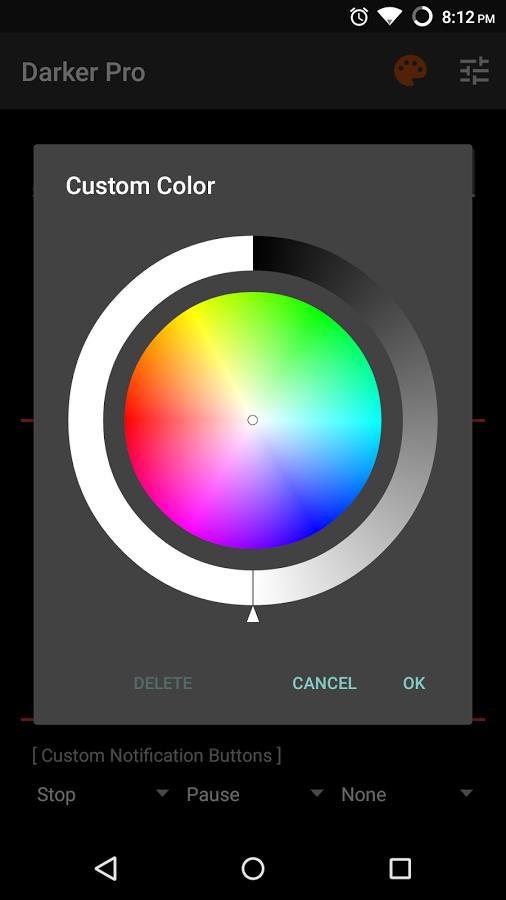 دانلود Darker Pro 3.1 - برنامه تنظیم میزان روشنایی صفحه اندروید
