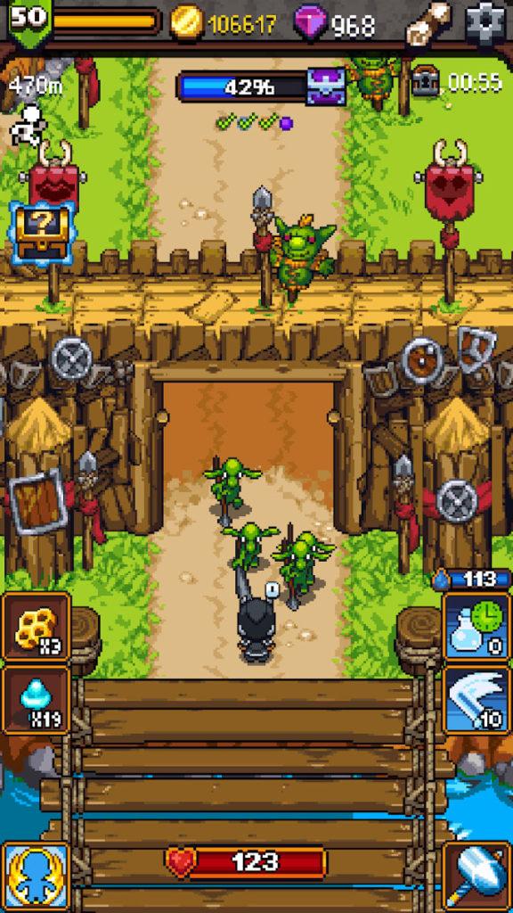 دانلود Dash Quest Heroes 1.5.7 - بازی قهرمانان ماجراجو اندروید + مود