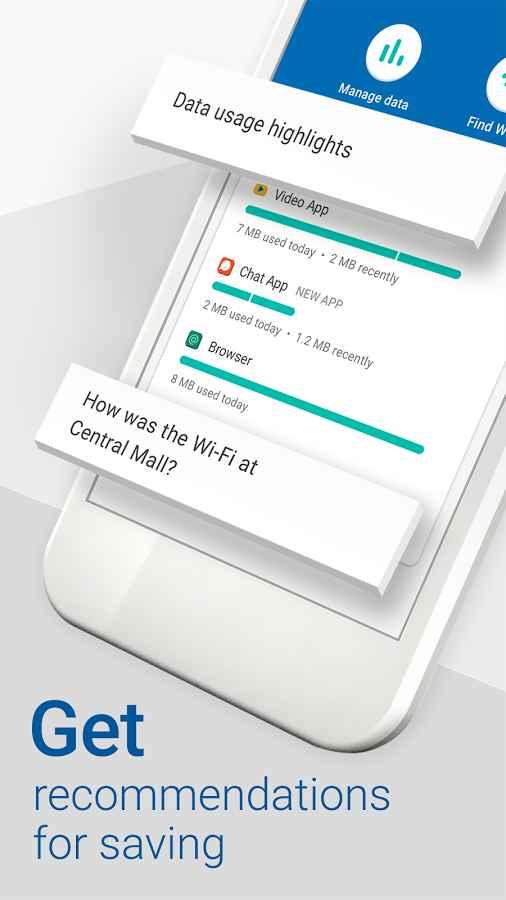 دانلود Datally: mobile data-saving & WiFi app by Google 1.1 - برنامه مدیریت مصرف اینترنت اندروید !