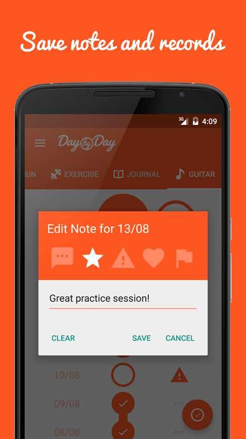 دانلود Day by Day • Habit Tracker Full 1.4.4 - ردیاب عادات زندگی اندروید !