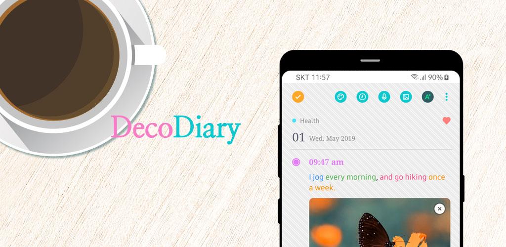 DecoDiary - Timeline Diary
