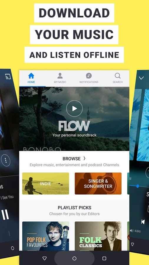 دانلود Deezer: Music & Song Streaming 6.0.6.79 - برنامه پخش آنلاین موزیک اندروید + Premium + مود
