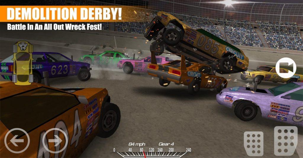 دانلود Demolition Derby 2 1.3.54 - بازی ریسینگ پرطرفدار
