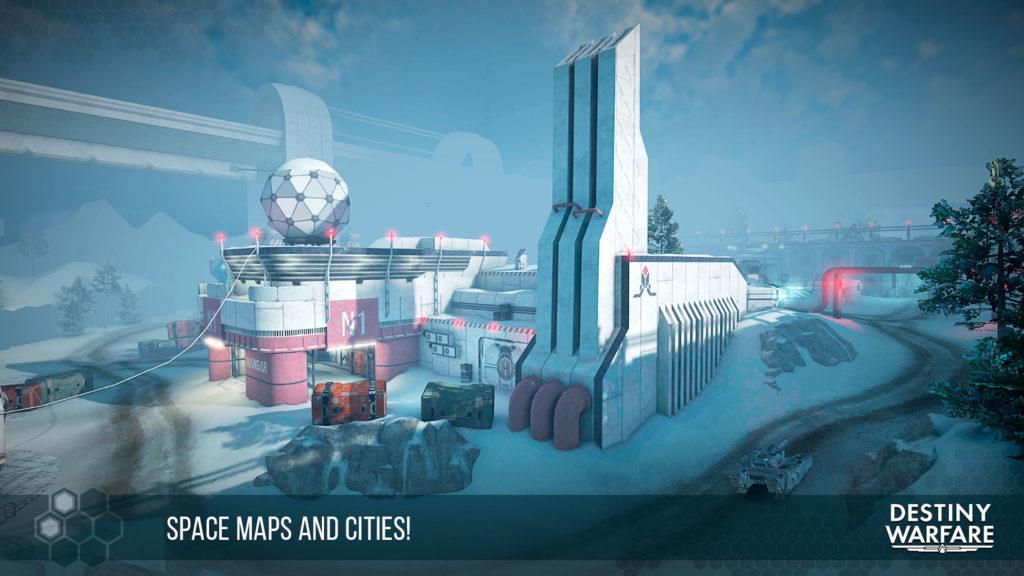 دانلود Destiny Warfare: Sci-Fi FPS 1.3.2 - بازی تفنگی مولتی پلیر