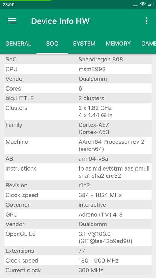 دانلود Device Info HW+ 4.18.1 - نمایش اطلاعات سخت افزاری اندروید !