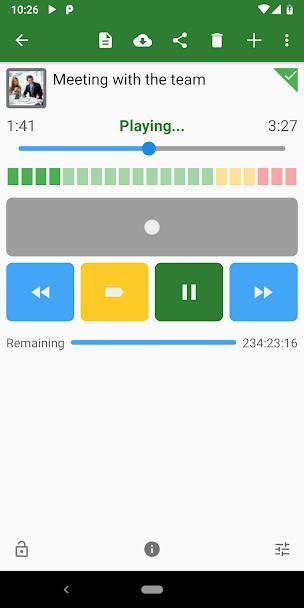 دانلود Dictadroid Voice Recorder 2.0.8 - برنامه قدرتمند و ساده ضبط صدا مخصوص اندروید!