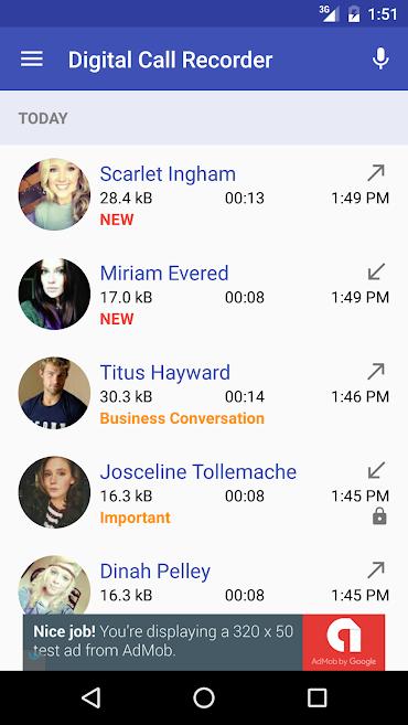 دانلود Digital Call Recorder 3 Pro 3.147 - برنامه عالی ضبط تماس اندروید