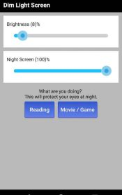 Dim Night Mode Screen Night Mode Pro.2 175x280 دانلود Dim Night Mode Screen – Night Mode Pro 4.4 – برنامه جذاب و جالب و خوب فیلتر نور آبی نمایشگر آندروید !