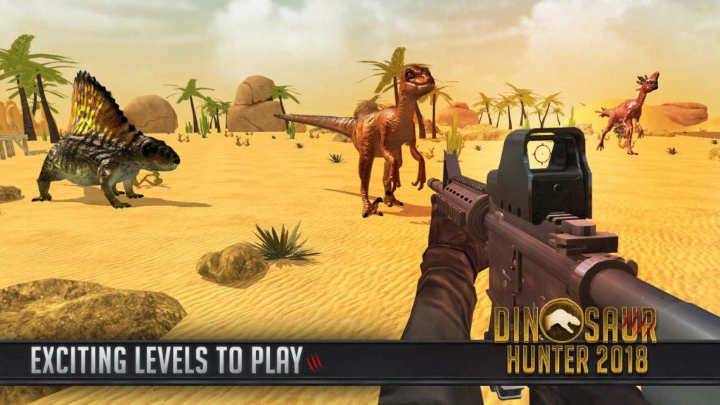 دانلود Dinosaur Hunter 2018 4.3 - بازی اکشن
