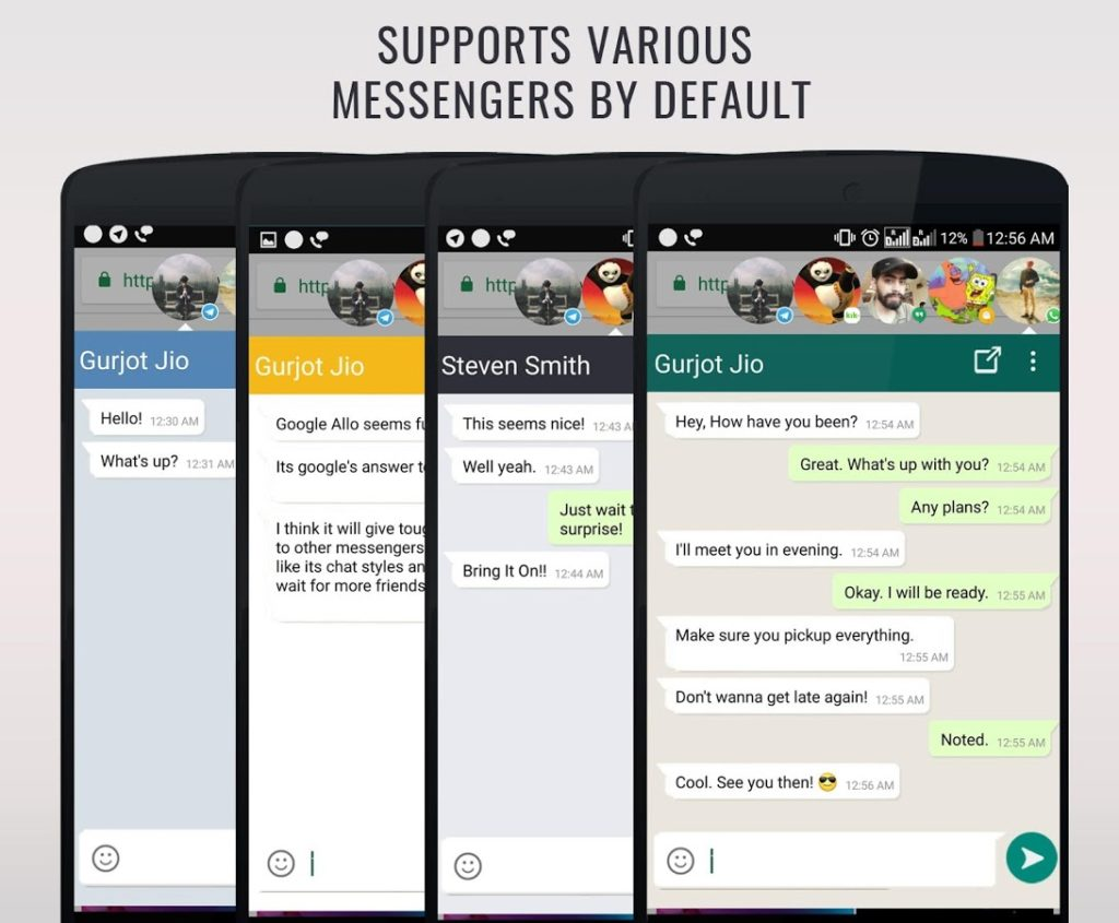 دانلود DirectChat Pro (ChatHeads) 1.7.5 b91 - پاسخ سریع به پیام ها اندروید