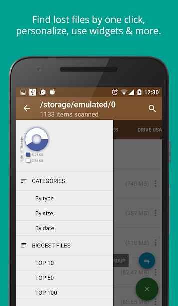 دانلود Disk & Storage Analyzer [PRO] 4.1.0.9 - برنامه تجزیه و تحلیل اطلاعات حافظه اندروید !