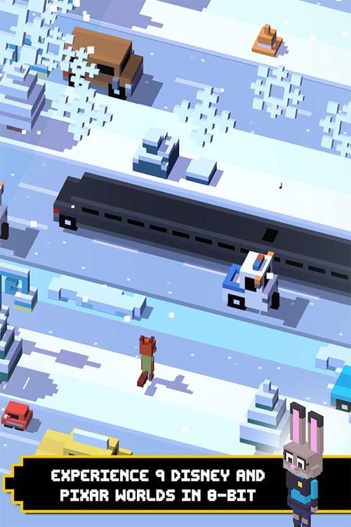 دانلود Disney Crossy Road 3.200.18289 - بازی آرکید جاده های پرخطر دیزنی اندروید + مود