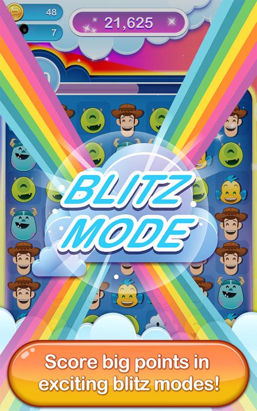 دانلود Disney Emoji Blitz 23.0.0 - بازی پازل شکلک های دیزنی اندروید + مود