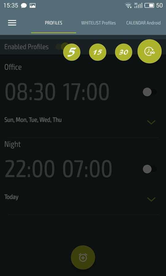 دانلود Do Not Disturb - Silent Mode Premium 4.1.6 - برنامه سایلنت هوشمند و خودکار اندروید !