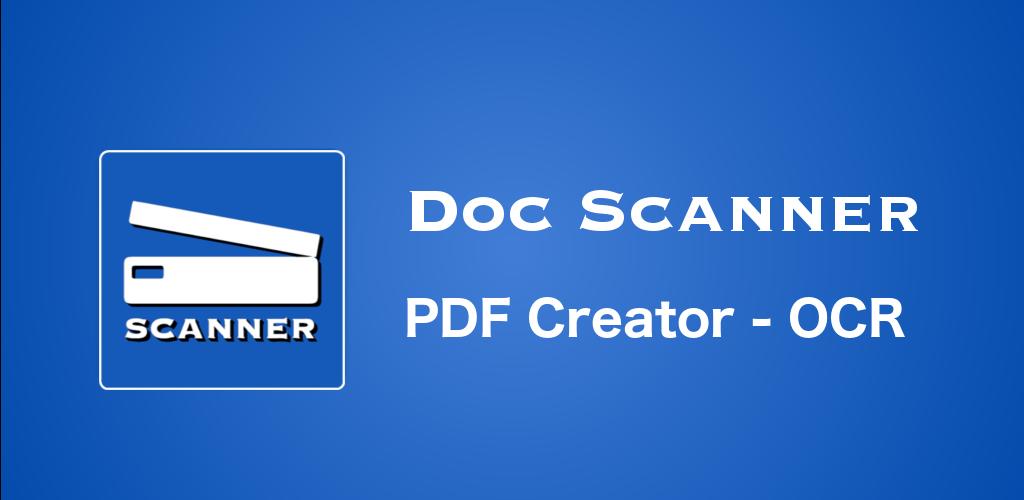 اپلیکشن اسکنر سریع و آسان اندروید - Doc Scanner pro : PDF Creator + OCR