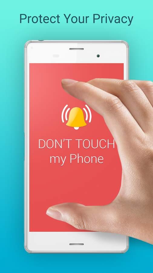 دانلود Don't Touch My Phone 1.82 - آلارم ساده ضد سرقت اندروید !