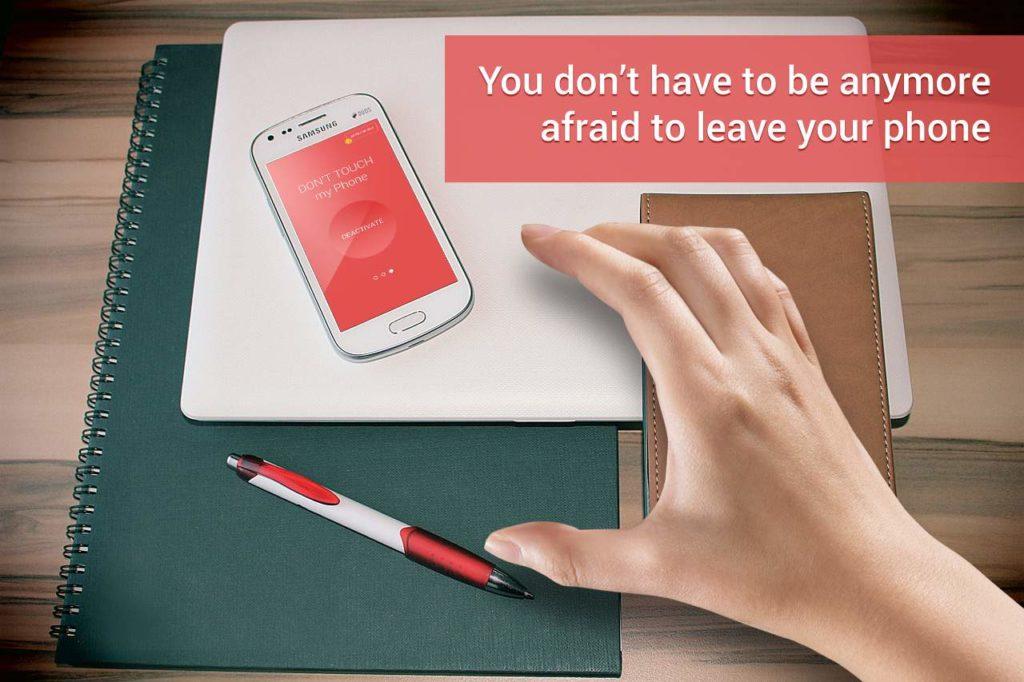 دانلود Don't Touch My Phone 1.122 - آلارم ساده ضد سرقت اندروید !