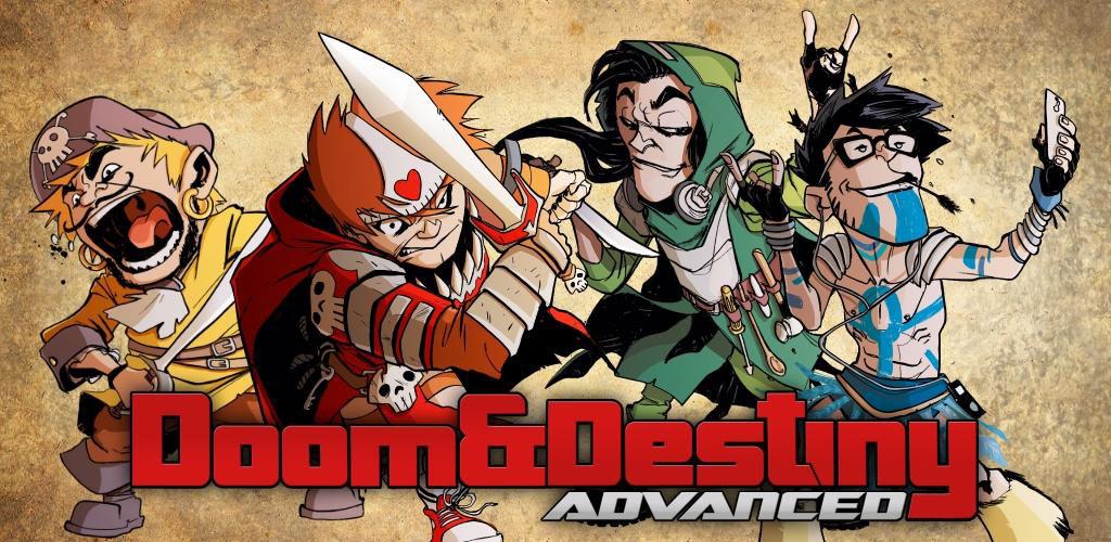 """Doom Destiny Advanced Cover دانلود Doom & Destiny Advanced 1.7.3.0 – بازی نقش آفرینی پرطرفدار """"تقدیر و همچنین سرنوشت"""" آندروید"""