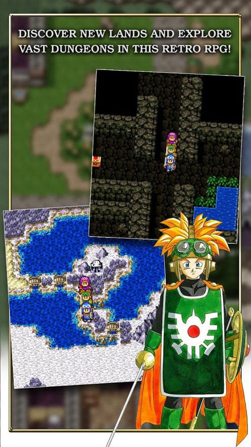 دانلود Dragon Quest II 1.0.7 - بازی نقش آفرینی پویش اژدها 2 اندروید + مود