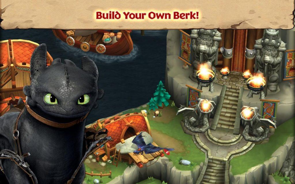 دانلود Dragons: Rise of Berk 1.35.9 - بازی پرطرفدار