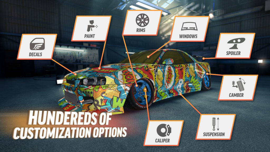 دانلود Drift Max Pro - Car Drifting Game 2.0.17 - بازی دریفت اندروید + مود + دیتا