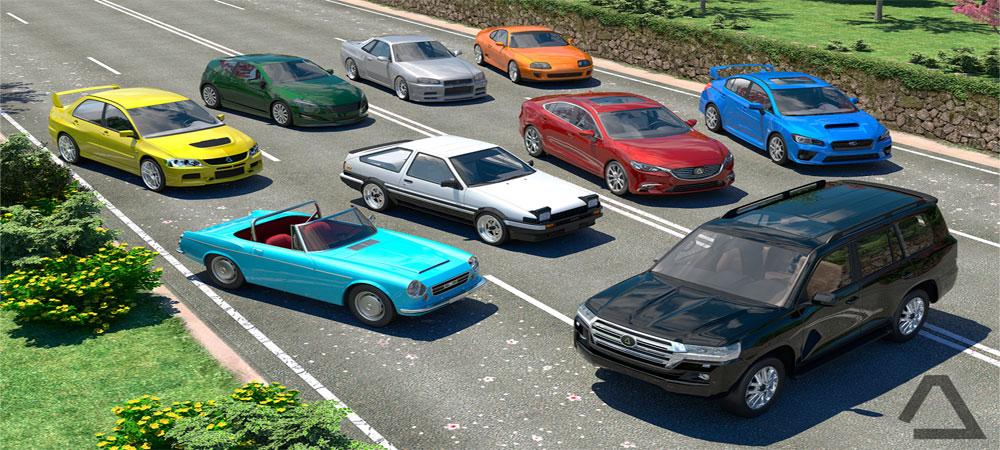 دانلود Driving Zone: Japan - بازی ماشین سواری در ژاپن اندروید + مود