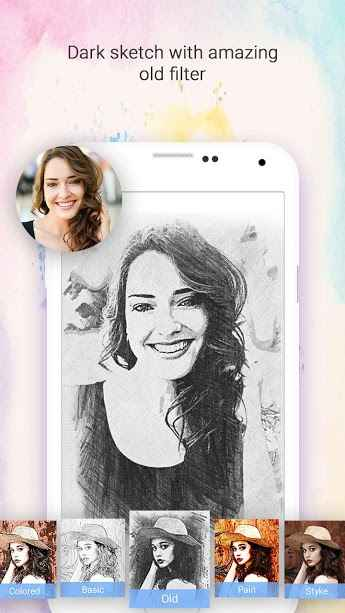 Droid Sketch Photo Maker